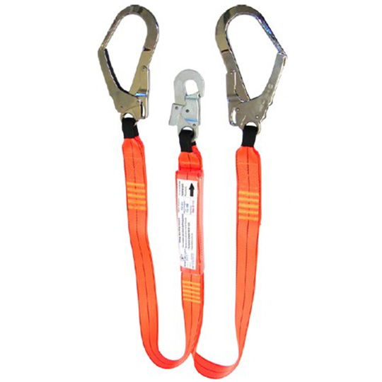 Double Lanyards with Scaffold Hooks